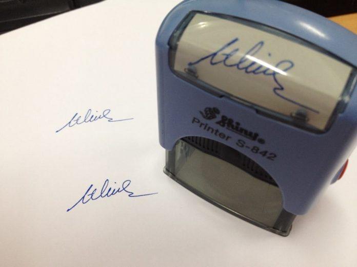 Dịch vụ khắc dấu chữ ký