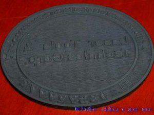 Khắc dấu cao su lấy ngay tại Hà Nội