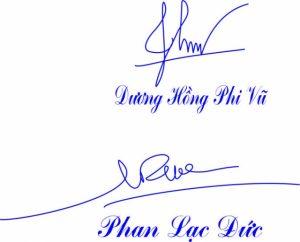 Khắc dấu chữ ký tại An Khánh
