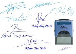 Dịch vụ khắc dấu chữ ký tại An Khánh