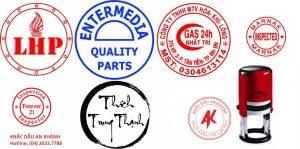 Con dấu tròn công ty, dấu logo của công ty
