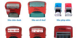 Các loại dịch vụ khắc dấu tại An Khánh