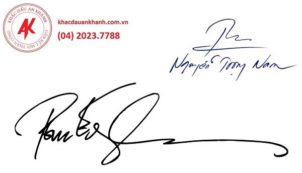 Địa chỉ khắc con dấu chứ ký uy tín tại Hà Nội