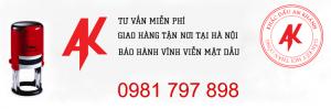 Dịch vụ làm con dấu tên giá rẻ tại An Khánh
