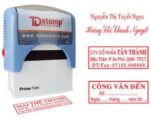 Dịch vụ khắc dấu lấy tại An Khánh