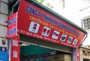 Dịch vụ khắc dấu chuyên nghiệp tại Hà Nội