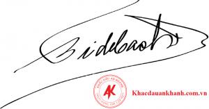 Hình ảnh dấu chữ ký