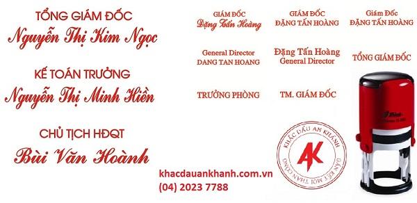 Địa chỉ khắc con dấu cá nhân uy tín nhất tai Hà Nội