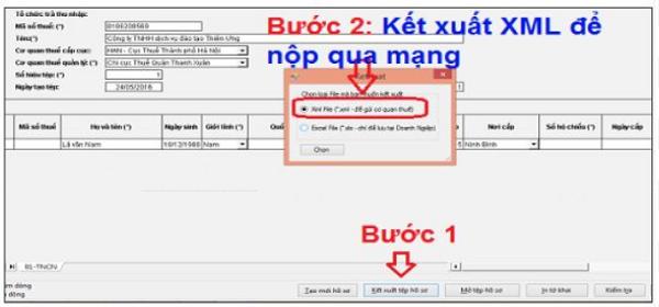 Hướng dẫn cách đăng ký mã số thuế cá nhân qua mạng cho nhân viên